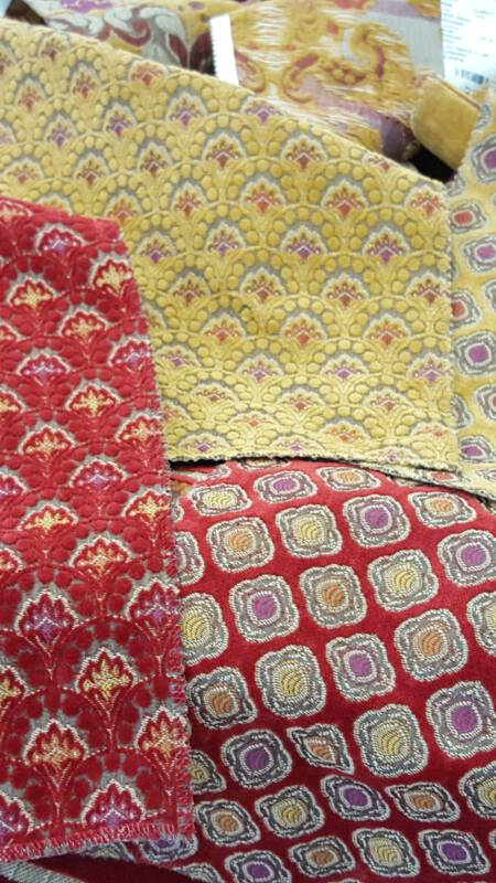 Stoffen - Ochre and Red